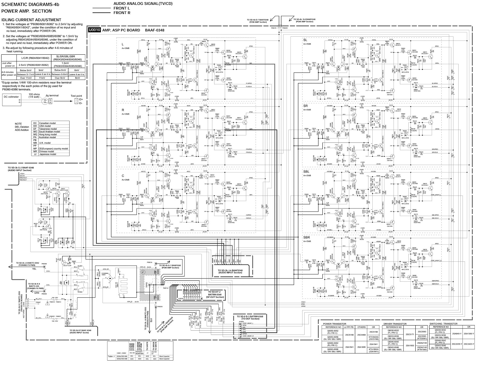 Receiver Circuit Wiring Diagram Diagrams Am Radio Using Tda 1072at Ic Schematic Onkyo 29 Images Jvc Ax R350 Integragated Amplifier Connection