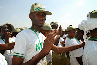 NYSC swearing at camp