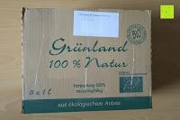 Verpackung: Grünland Bio Orangensaft, 8er Pack (8 x 1 l)