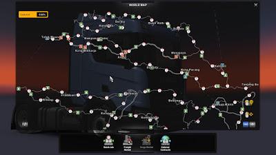 PJ Indo Map v2.6 - ETS2 v1.34