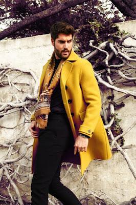 Nick Bateman, L'Officiel Hommes, Katya Tsyganova, lookbook, Magazine, Suits and Shirts, supermodel, Aisha Rae,