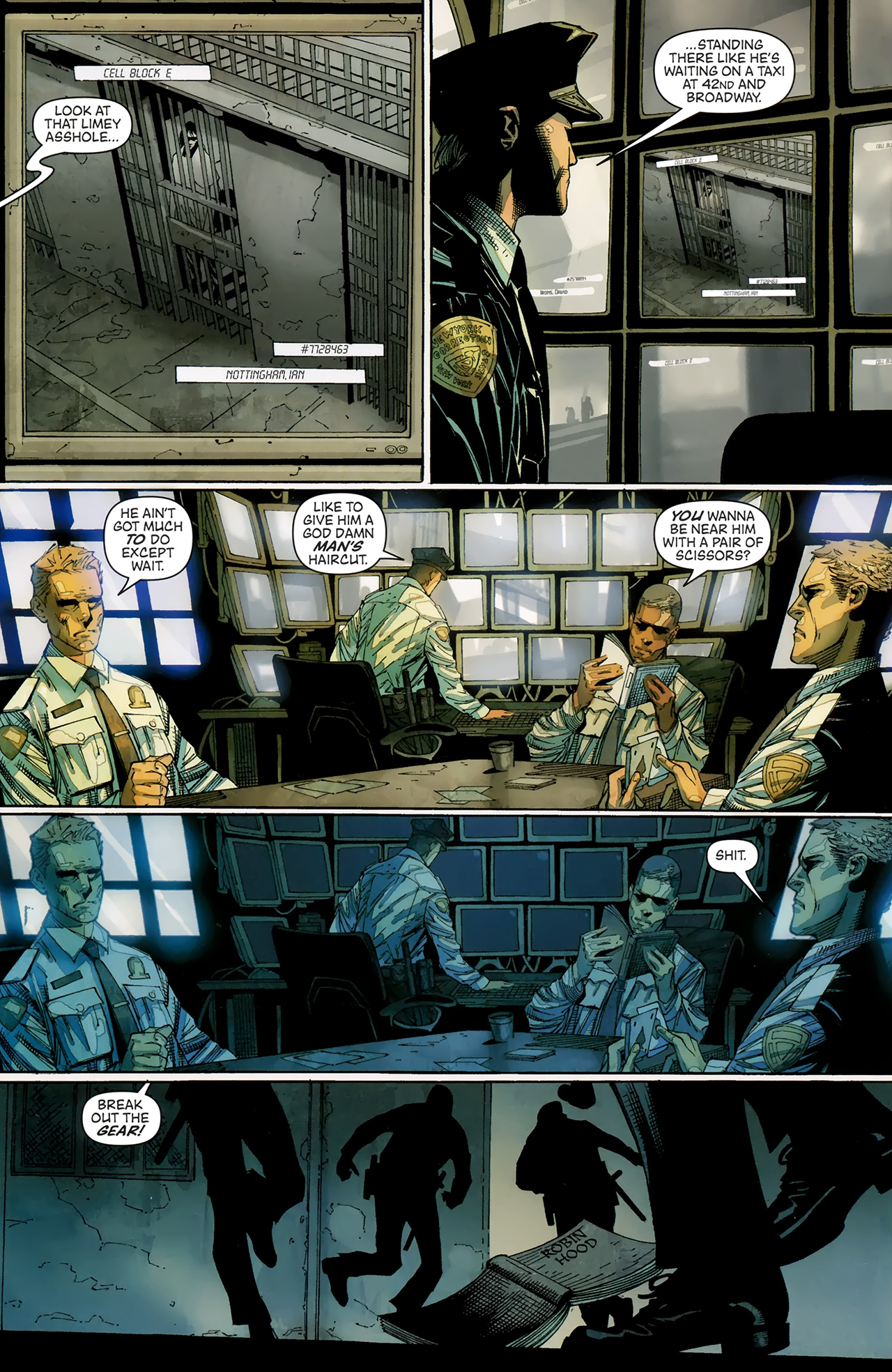 Read online Artifacts comic -  Issue #3 - 4