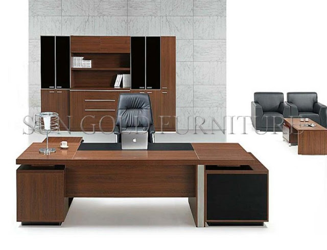 best buy wood modern executive office furniture Pretoria for sale