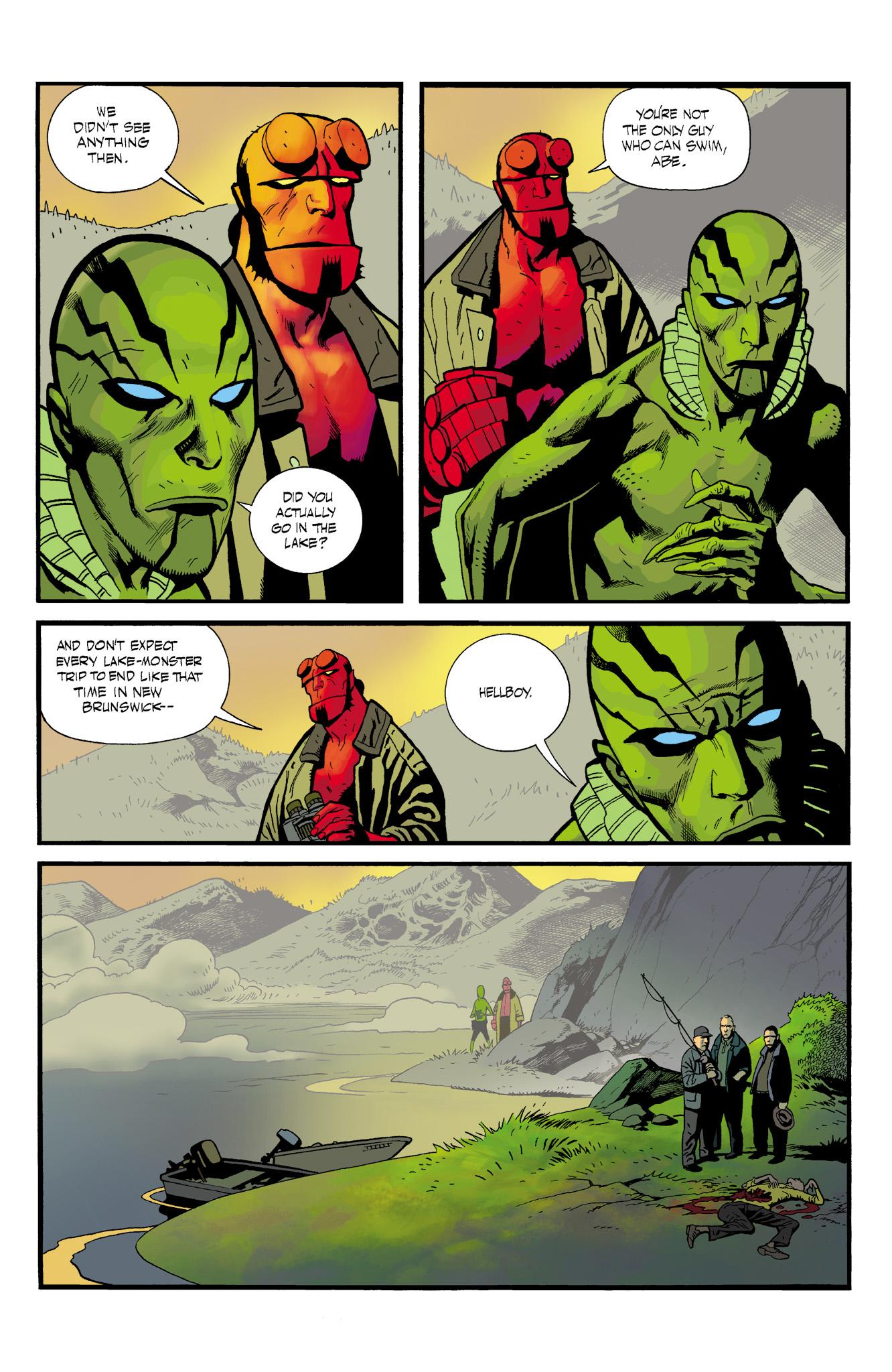 Read online Abe Sapien comic -  Issue #23 - 5