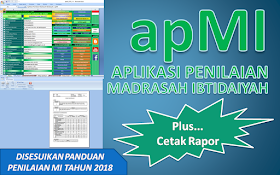 aplikasi raport kurikulum 2013 mi apMI