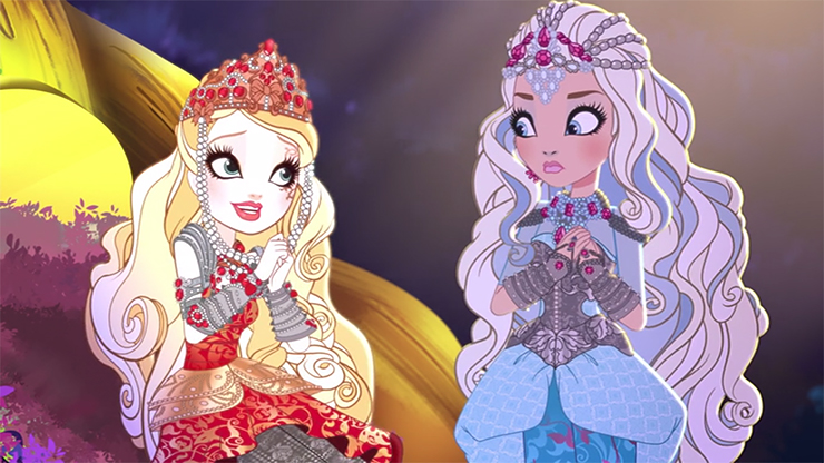 The Animated Forest Ever After High Lesbian Princess