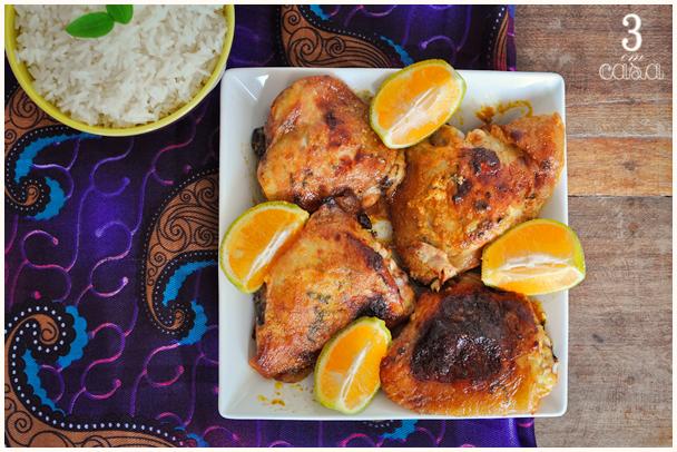 frango tandoori como fazer