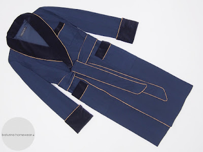 mens dressing gown dark blue velvet silk luxury robe full length warm long english gentleman victorian vintage style