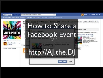 How Do You Share An Event On Facebook