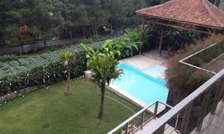 villa kolam renang untuk acara sekolah