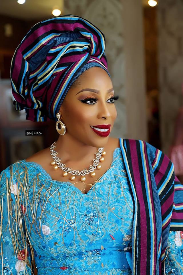 Mo Abudu's Stunning Look To Her Daughter's Wedding