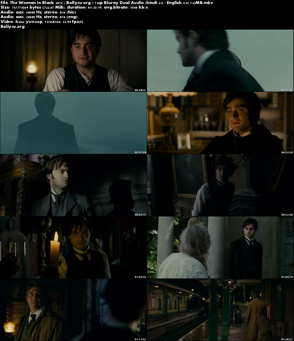 The Woman In Black 2012 BluRay 700Mb Hindi Dual Audio 720p Download