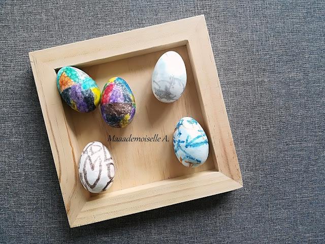 || Nos activités de Pâques - Décoration oeufs polystyrène