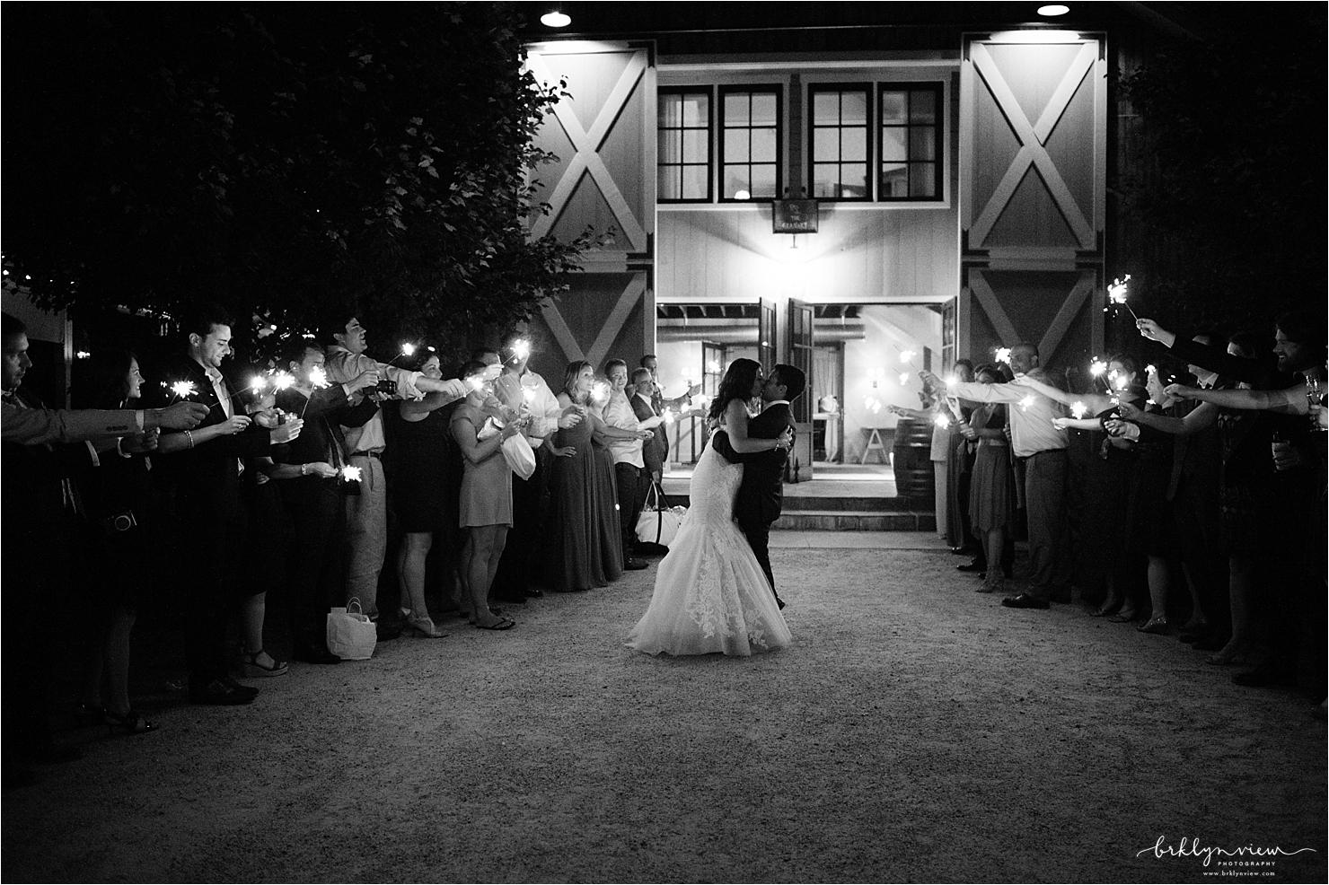 Sparkler Exit Sendoff Wedding Pictures