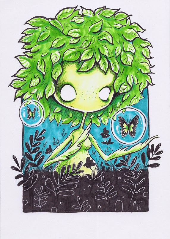 Art by Annika: The 3 marker challenge BG45, YG07 and Y00