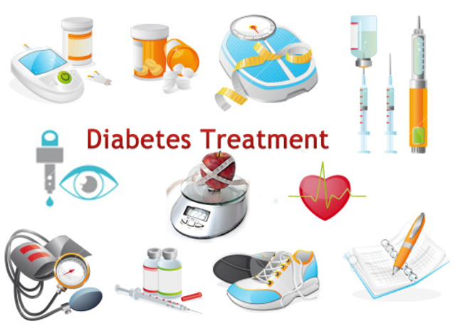 What are the treatments for diabetes?