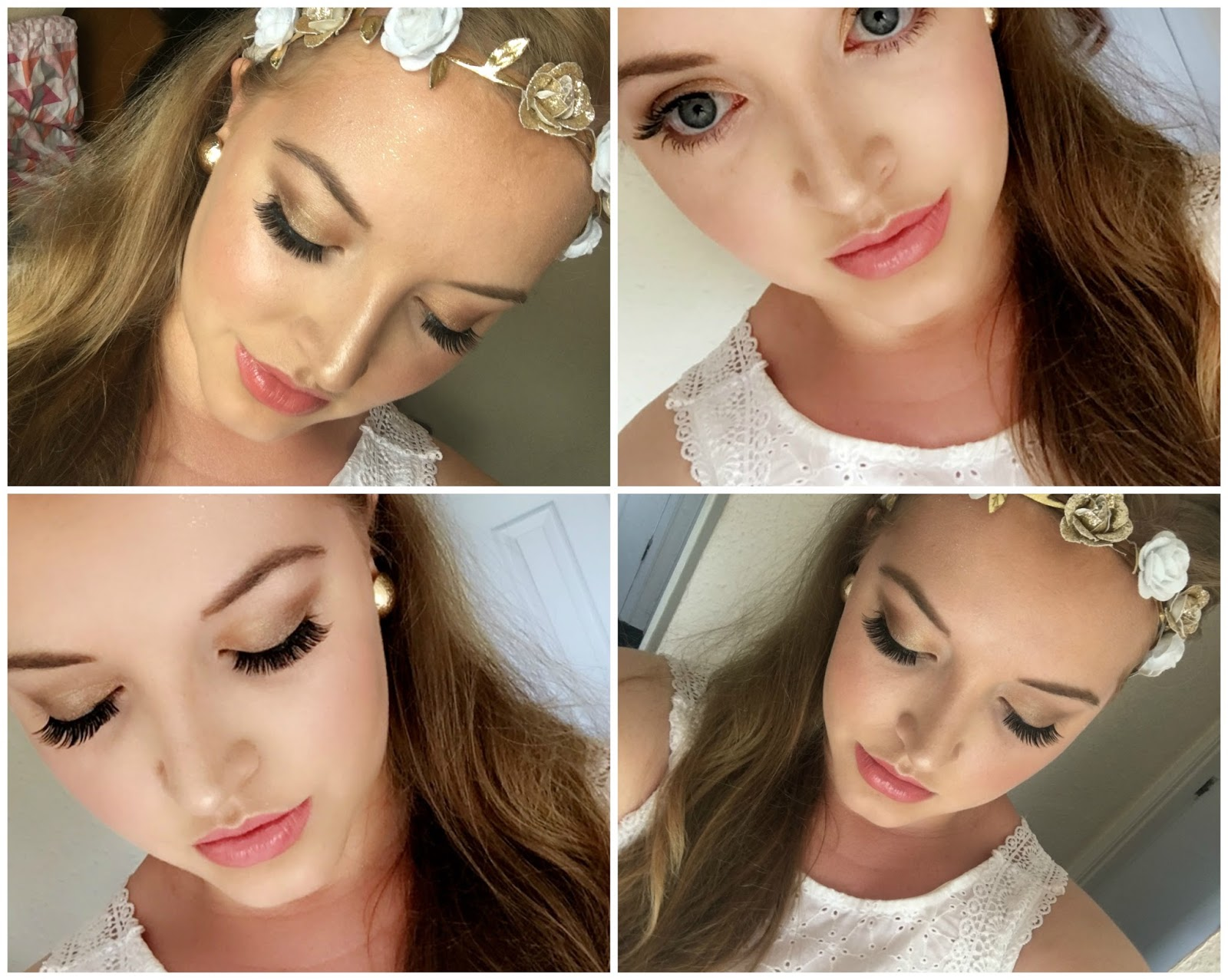 Glowing Greek Goddess Makeup Olivia Emily Beauty