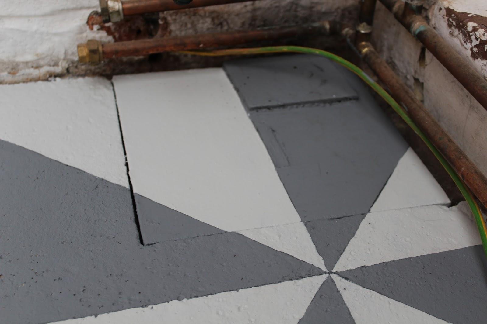 Flooring Over an Old Gutter