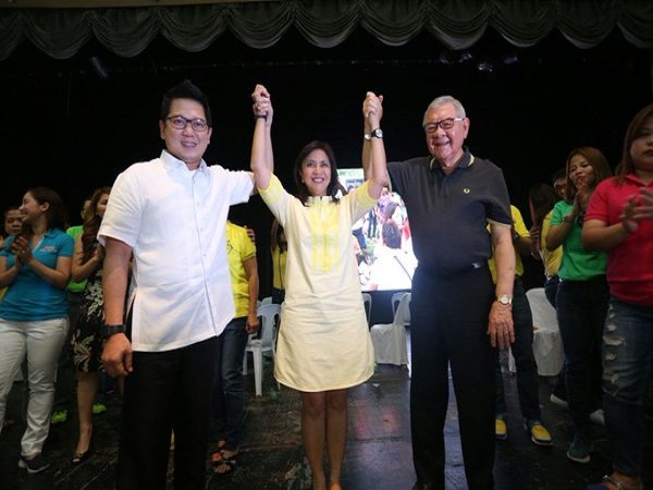 QC MAYOR HERBERT BAUTISTA : AN HONOR FOR QC TO HOST VP LENI