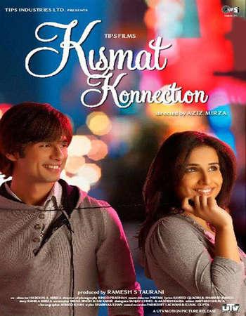 Poster Of Kismat Konnection 2008 Hindi 650MB BRRip 720p ESubs HEVC Watch Online Free Download downloadhub.in