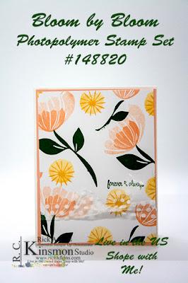 Bloom by Bloom Stamp Set, #simplestamping, Rick Adkins