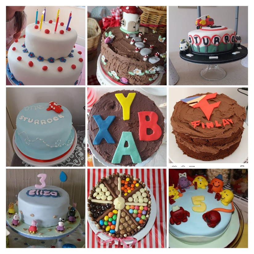 My Guide To Home Made Birthday Cakes Round Up