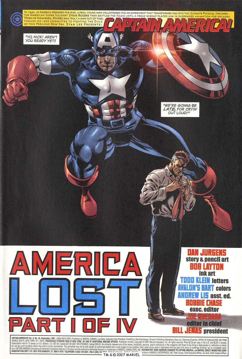Captain America (1998) Issue #45 #52 - English 3