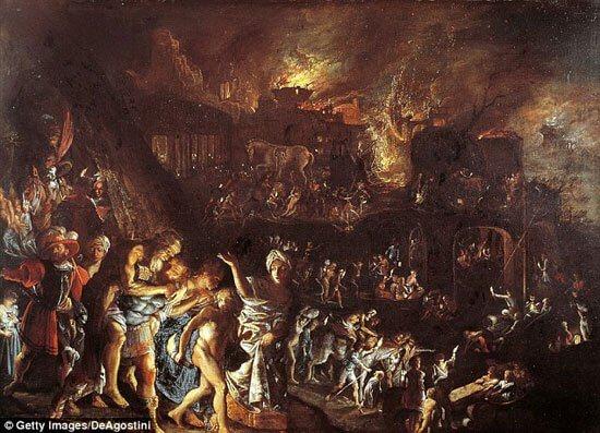 العصور المظلمة اليونانية