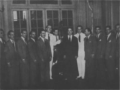 Horacio Salgan con su orquesta en 1947