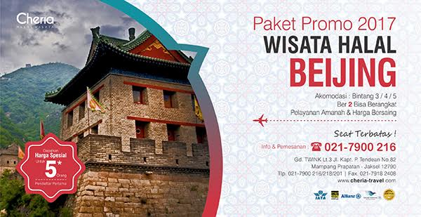 Paket Tour China Beijing Yang Muslim Friendly Halal
