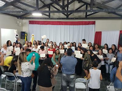 Prefeitura de Eldorado certifica alunos através dos cursos do Fundo Social