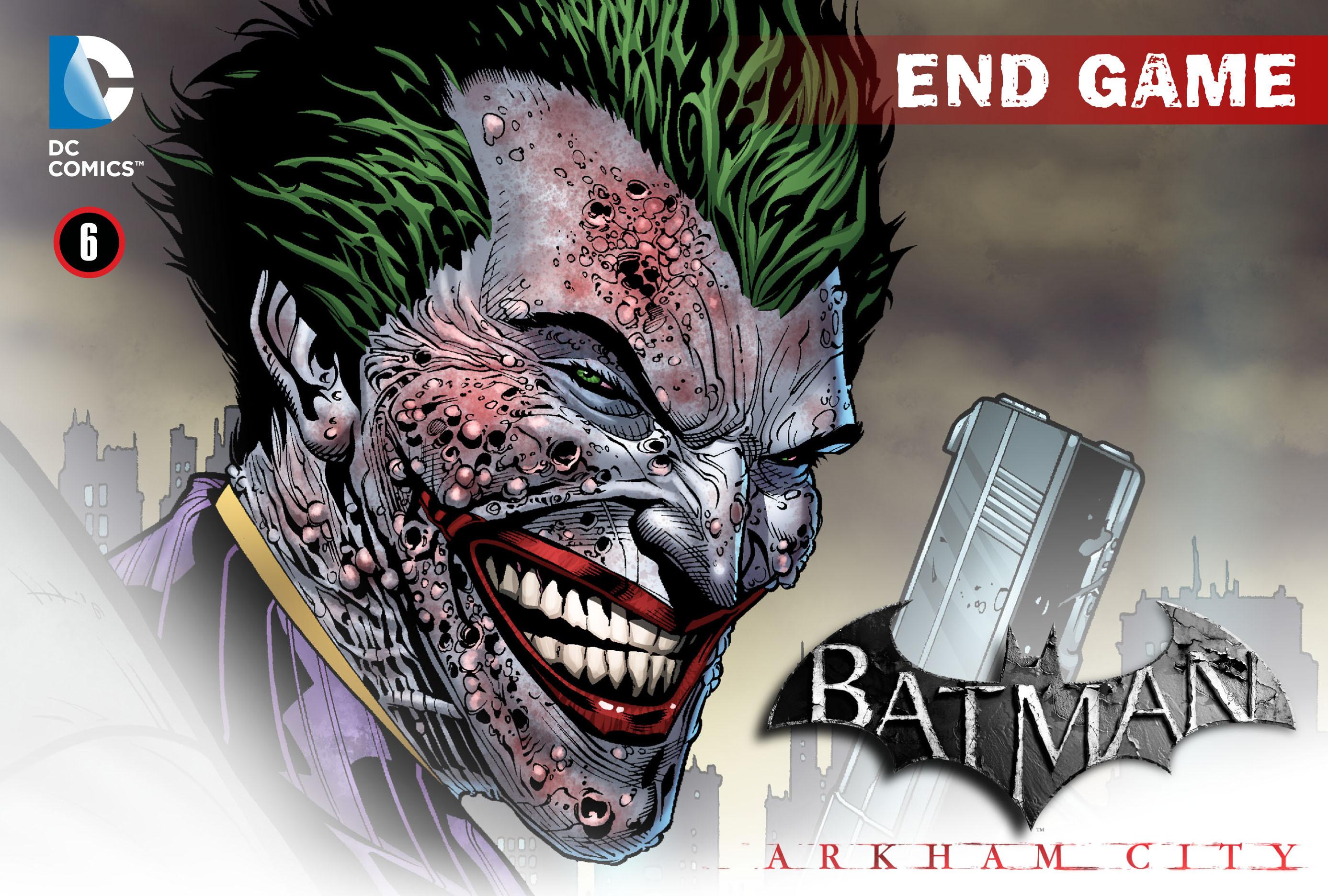 Batman: Arkham City: End Game 6 Page 1