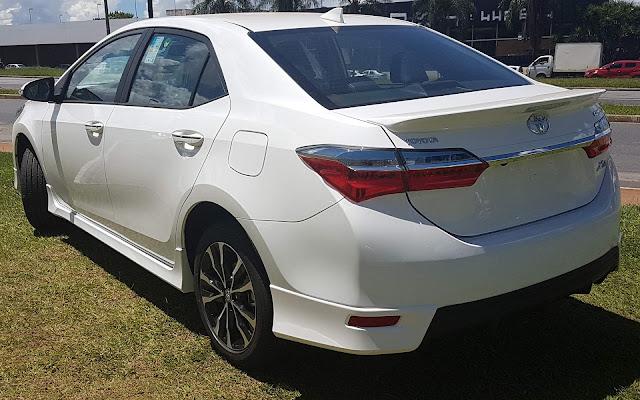 Novo Corolla 2018 XRS