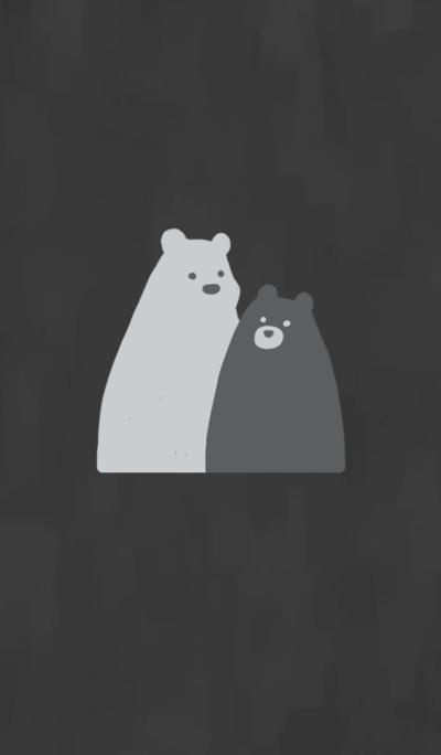 Order bear - B&W