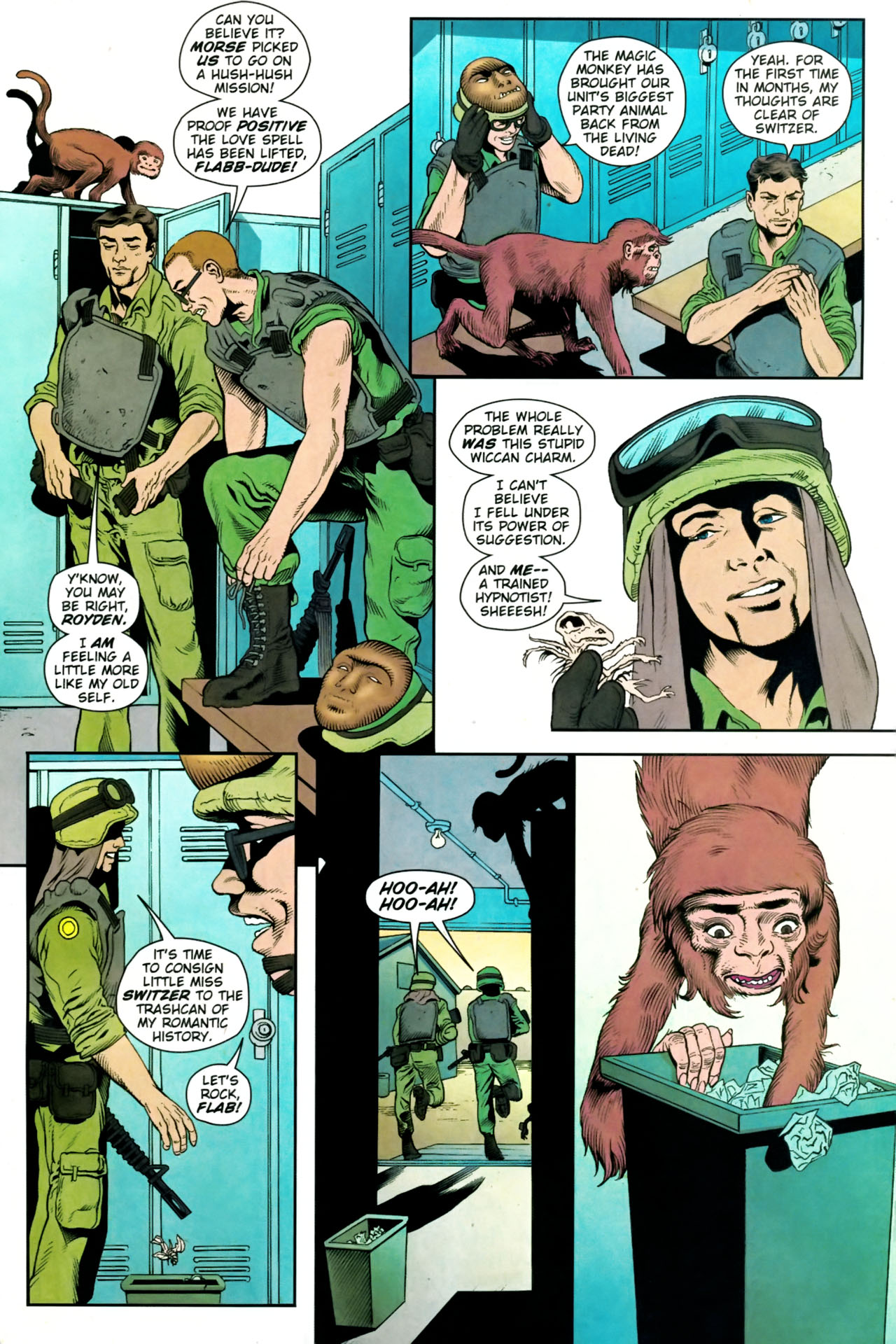 Read online Army @ Love comic -  Issue #9 - 19