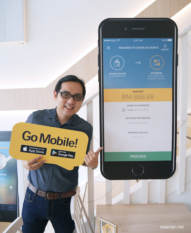 Go Mobile! , payments online can be done via a variety of channels