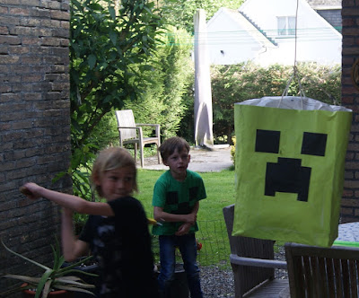 free, easy Minecraft piñata