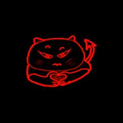 Cute black devil