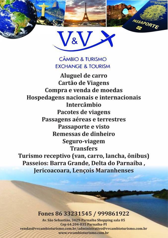 V&V Câmbio & Turismo