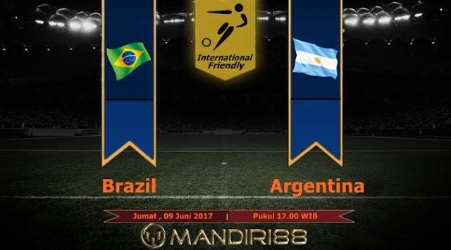 Prediksi Bola : Brazil Vs Argentina , Jumat 09 Juni 2017 Pukul 17.00 WIB