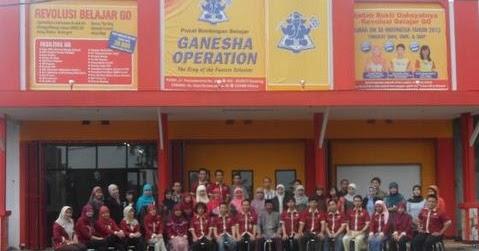 Biaya Bimbel Ganesha Operation Tingkat SMP dan SMA