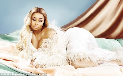 Pregnant Blac Chyna poses NUDE on her very own Paper magazine cover.