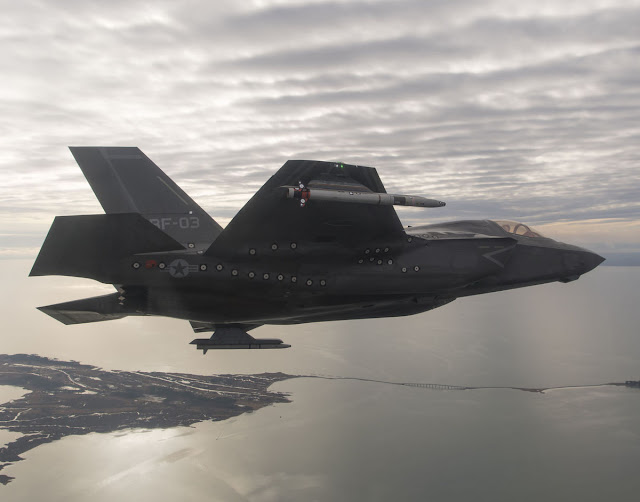 UK LEADS F35B WEAPON TESTS