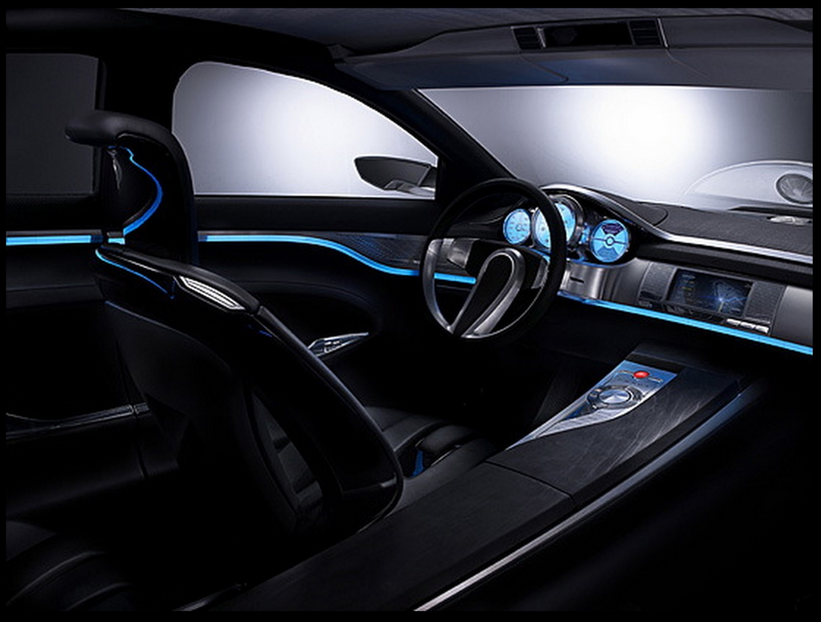 Use of ambient lighting creates a private relaxed atmosphere and can serve & Innovative interior lighting creates style and ambience that car ...