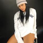 Andrea Rincon, Selena Spice Galeria 19: Buso Blanco y Jean Negro, Estilo Rapero Foto 100