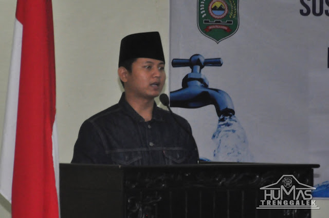Melalui Program Pamsimas III, Plt Bupati Trenggalek Berharap Masyarakat Dapat Mengakses Layanan Air Bersih