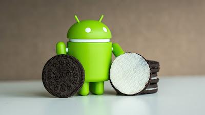 android oreo, android o, android 8.0, android bisküvi, android logo, android işletim sistemi, android 8.0 oreo