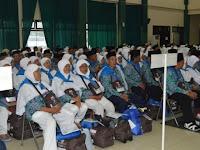 71 CJH OKU Selatan Tiba di Embarkasi Palembang