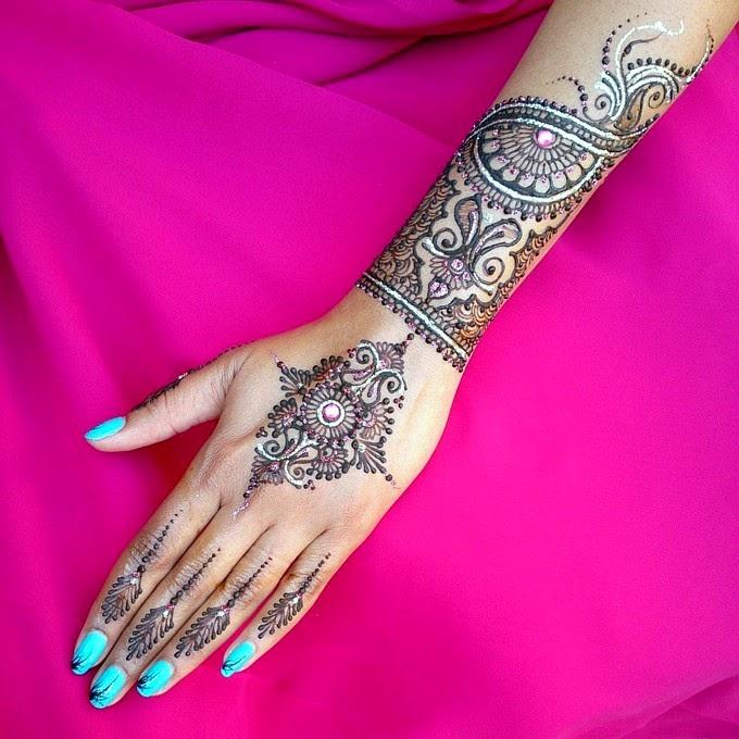 Mehndi Designs For Christmas Wedding Parties Henna